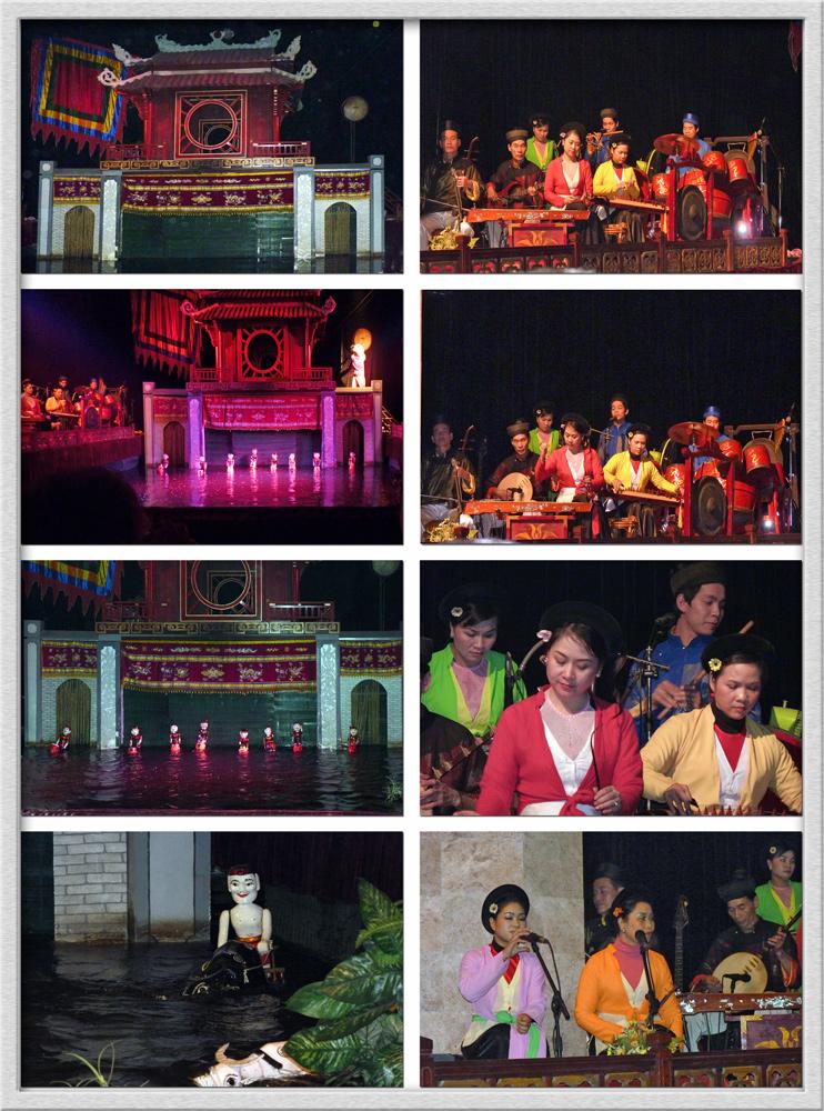 Hanoi - Szenen des berühmten Wasserpuppenbaletts