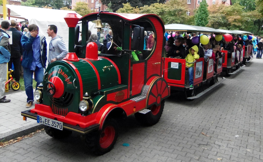 Hans Dampf - Kindereisenbahn auf Gummirädern