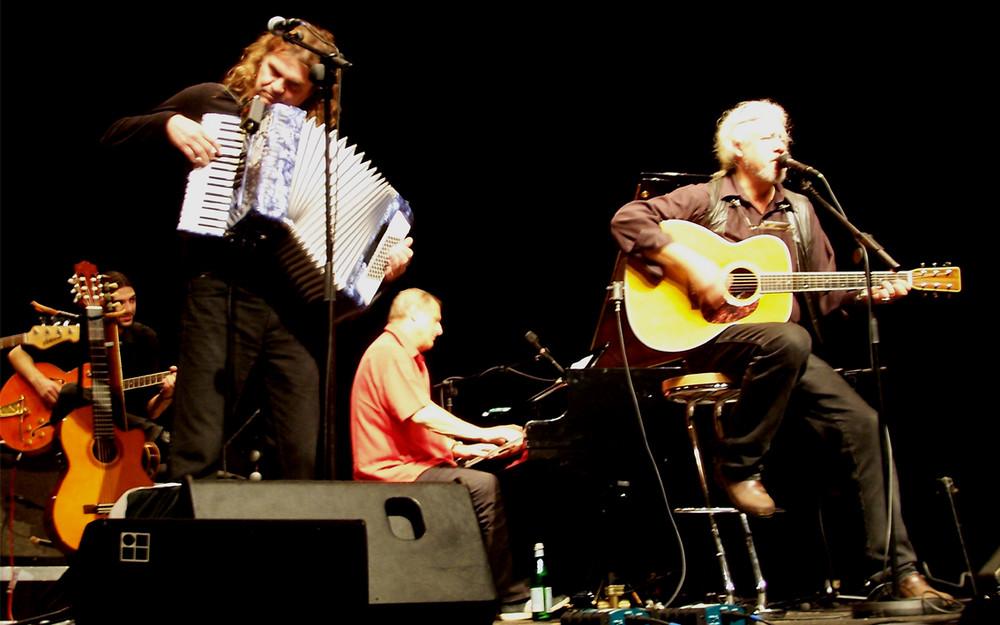 Hans-Eckardt Wenzel, Arlo Guthrie & Konstantin Wecker (18.09.2006 im Gasteig)