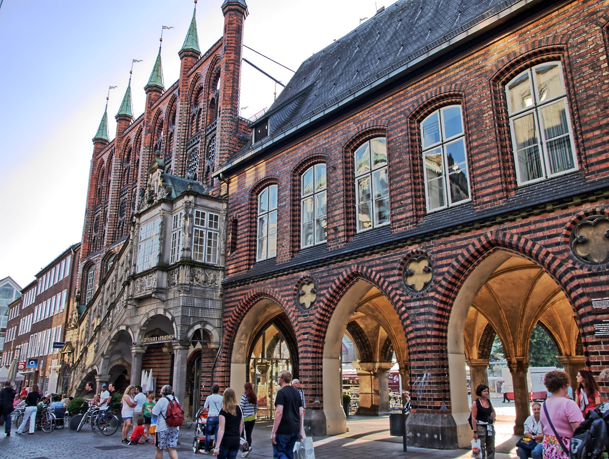 Architektur Lübeck hanse architektur in lübeck foto bild deutschland europe