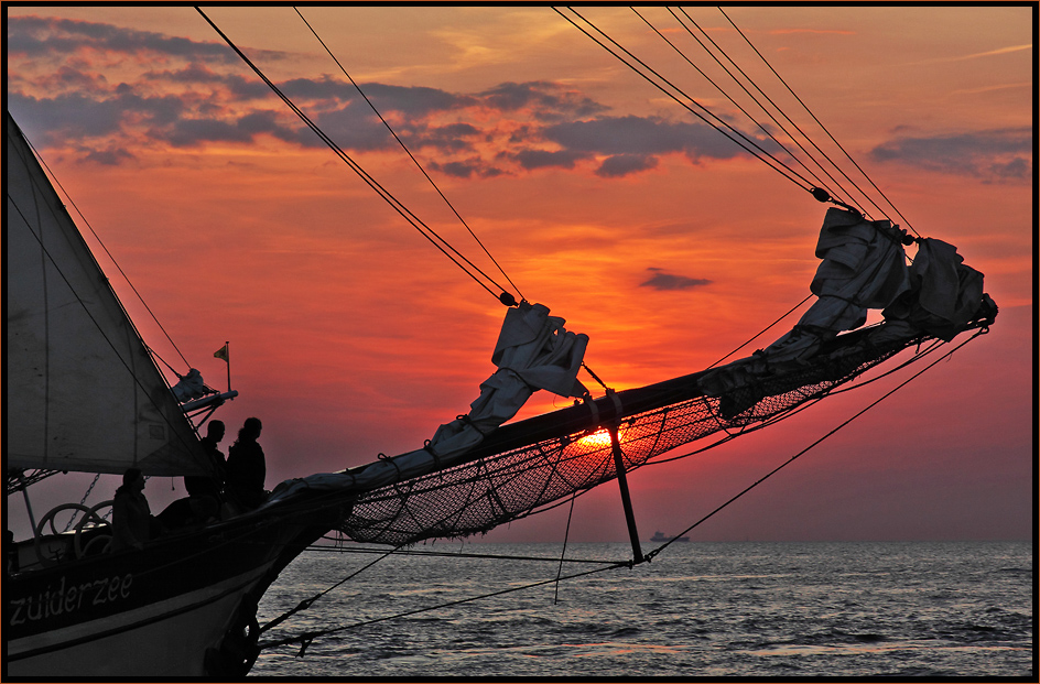 Hanse Sail 2009 - Sunset Sails