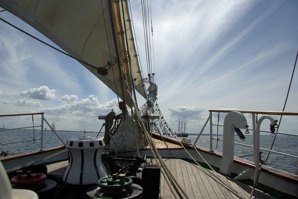 """Hanse Sail 2013 mit der """"Greif"""""""