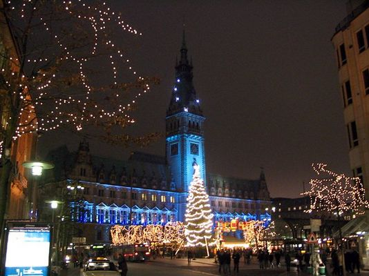 Hanseatische Weihnachtsstimmung ohne Schnee