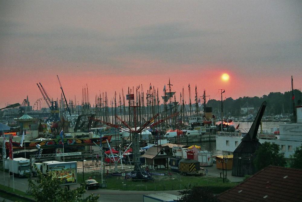 Hansesail im Stadthafen 2007
