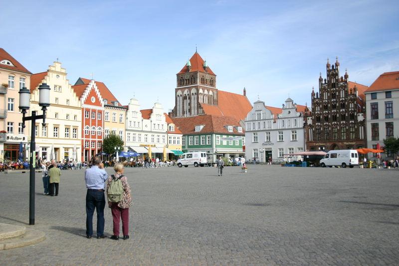 Hansestadt Greifswald, Markt mit St. Marien