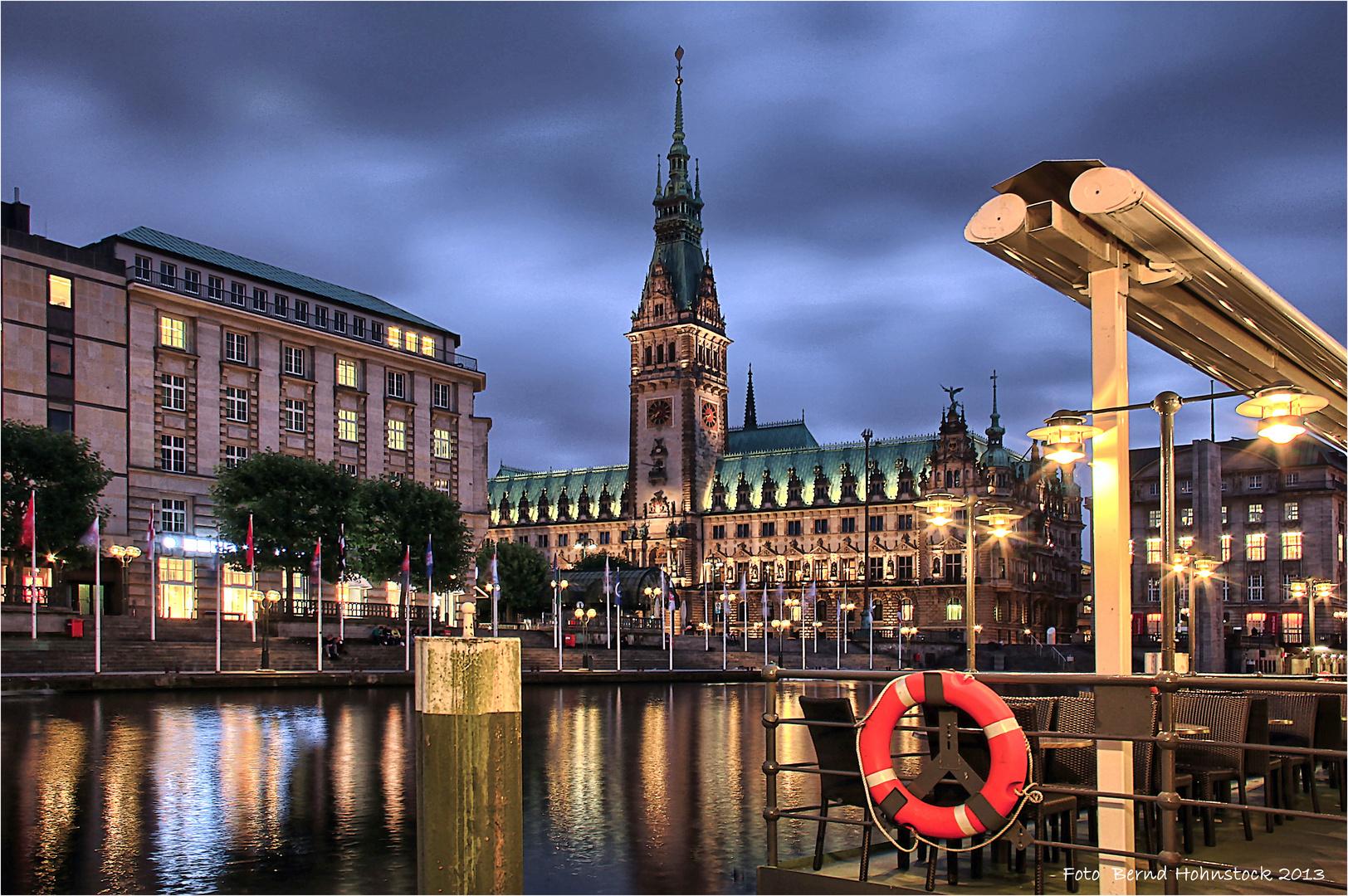 Hansestadt Hamburg Rathaus ....