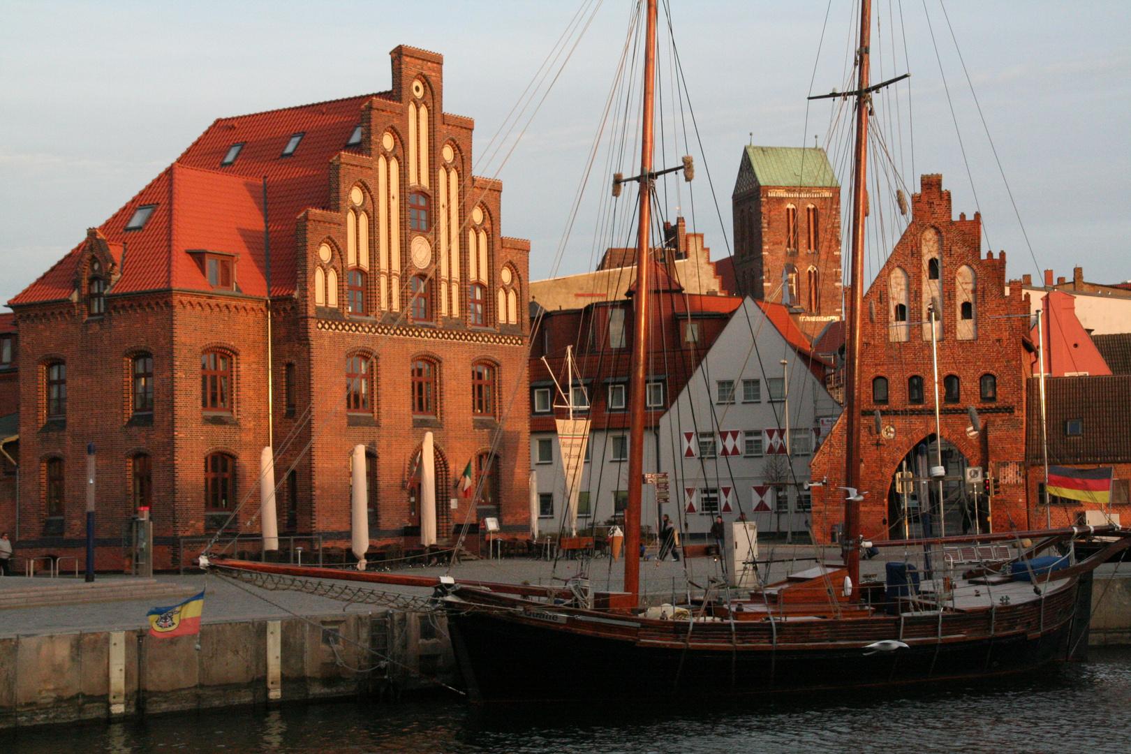 Hansestadt Wismar -Der Alte Hafen-