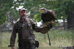 Hanteltraining mit Weißkopfadler...