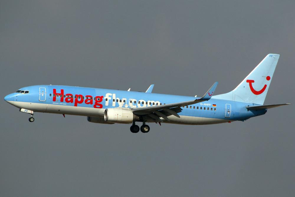 Hapagfly Boeing 737-8K5 (D-AHFF)