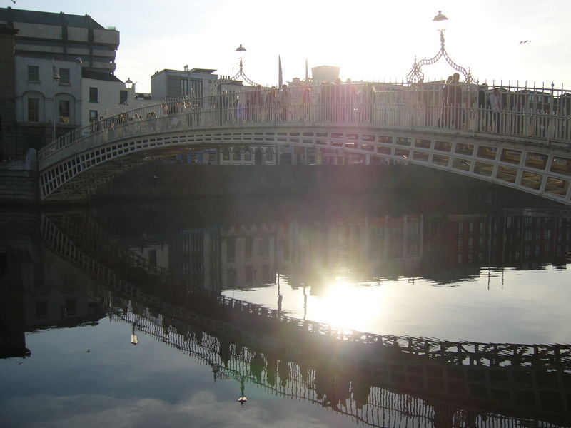 Ha'Penny Bridge - Ireland