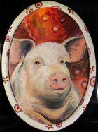 Happy Big Pig