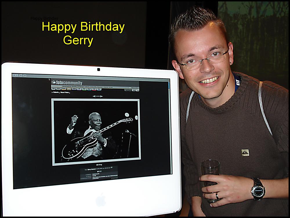 happy birthday Gerry
