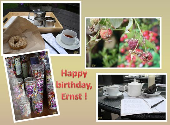 HAPPY BIRTHDAY LIEBER ERNST