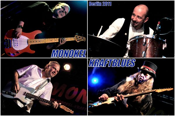 Happy Birthday! Monokel-Kraftblues, live im Frannz