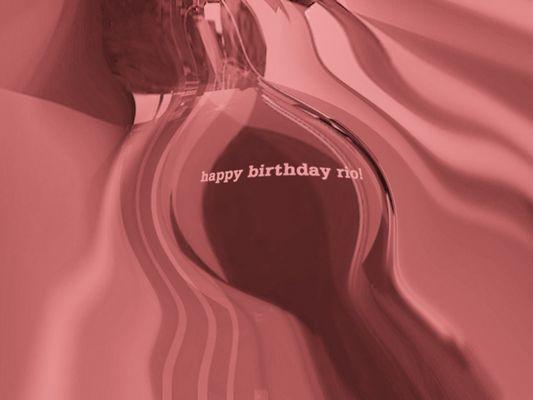 happy birthday rio!