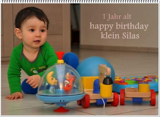 HAPPY BIRTHDAY Silas