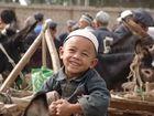 Happy Child in Kirgistan
