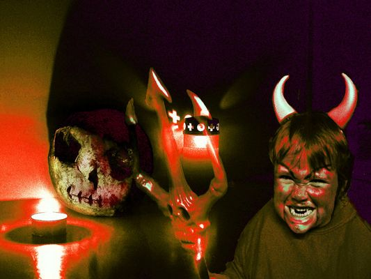 Happy Halloween Creepy