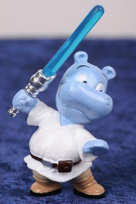 Happy Hippo, der Jediritter
