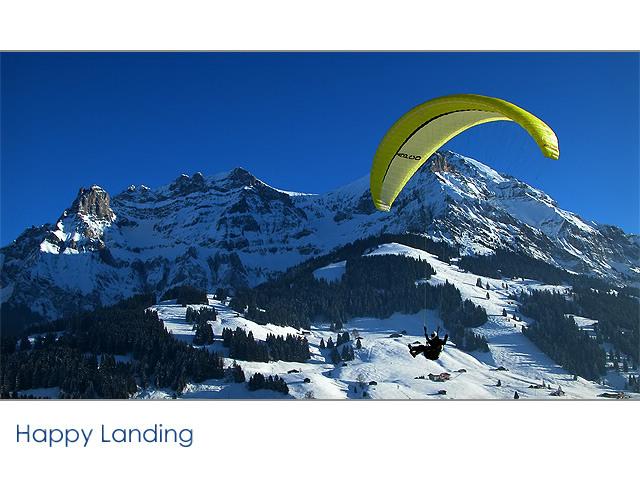 Happy Landing...