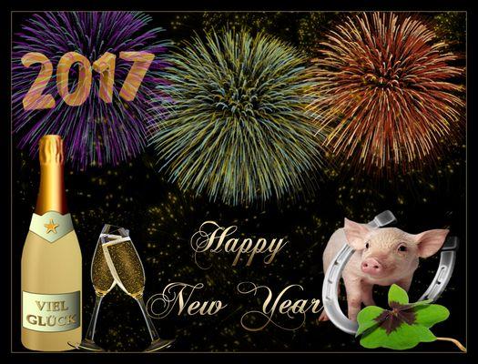Happy New Year - 2017