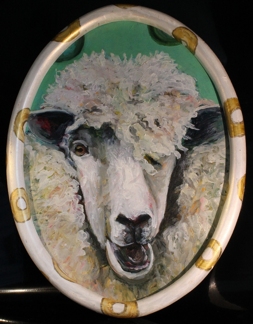 Happy Punk Sheep