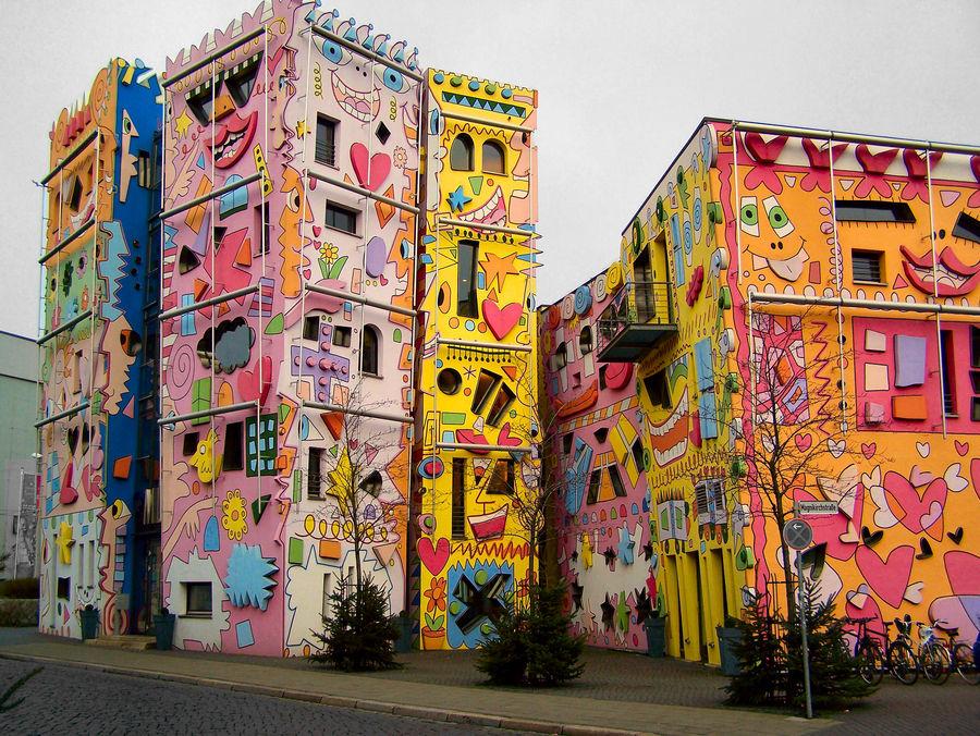Happy Rizzi Haus In Braunschweig Foto Bild Architektur Hochh User Profanbauten Bilder Auf