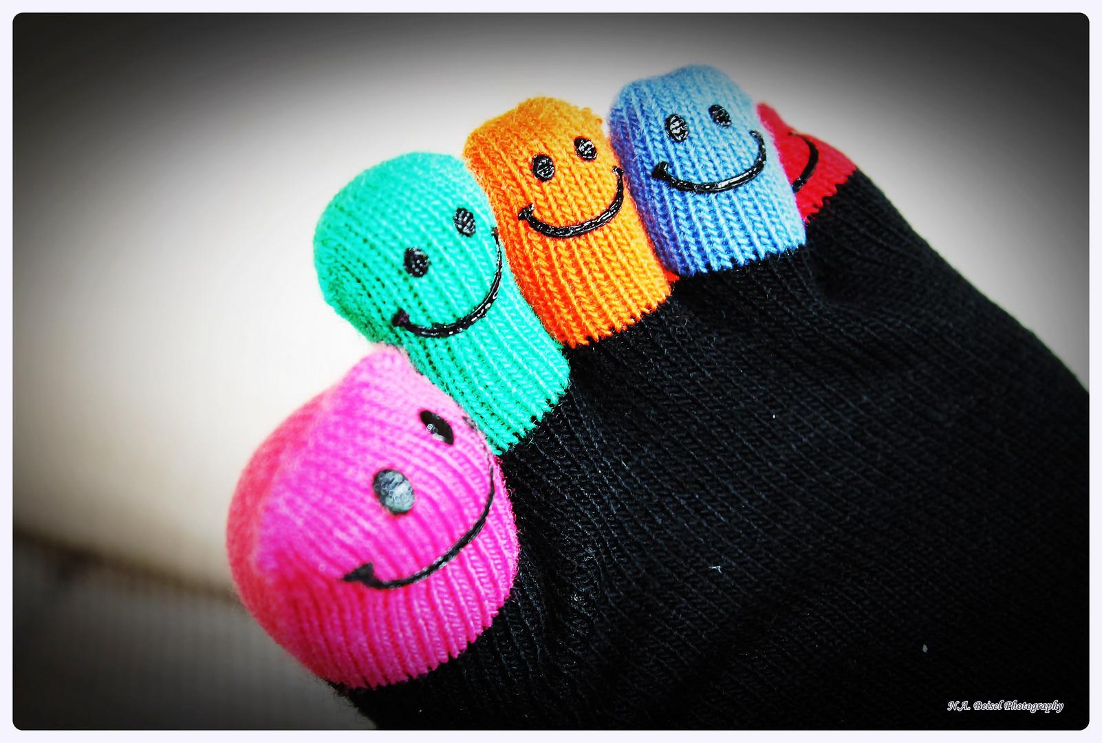 Happy Smiley Feet :)