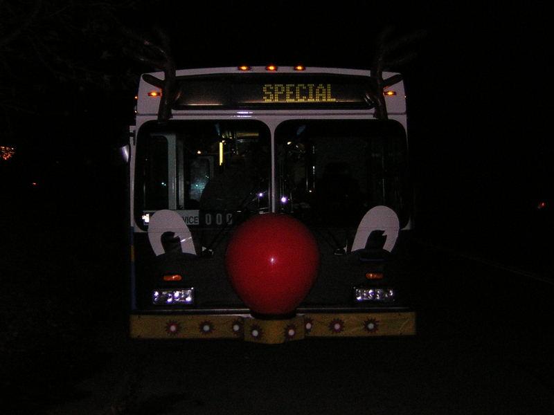 Happy X-mas Bus