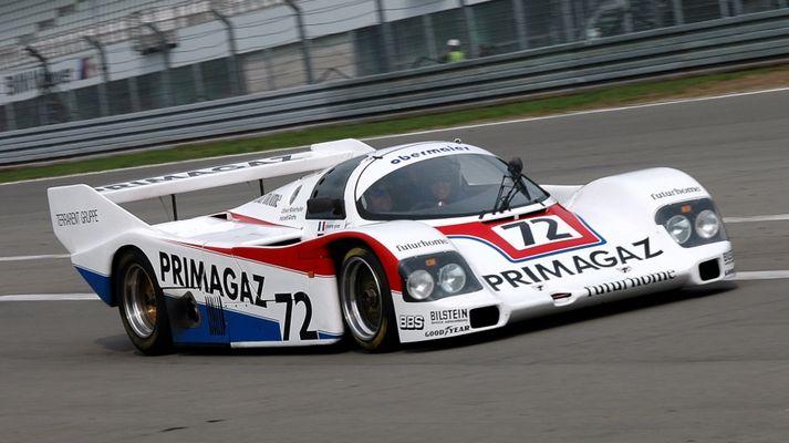 Harald Grohs im Porsche