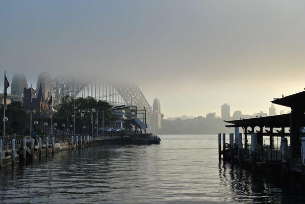 Harbour Bridge 7:30 am