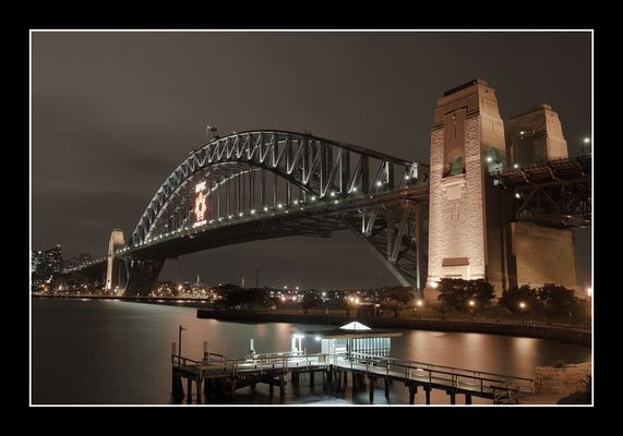 Harbour Bridge @ night