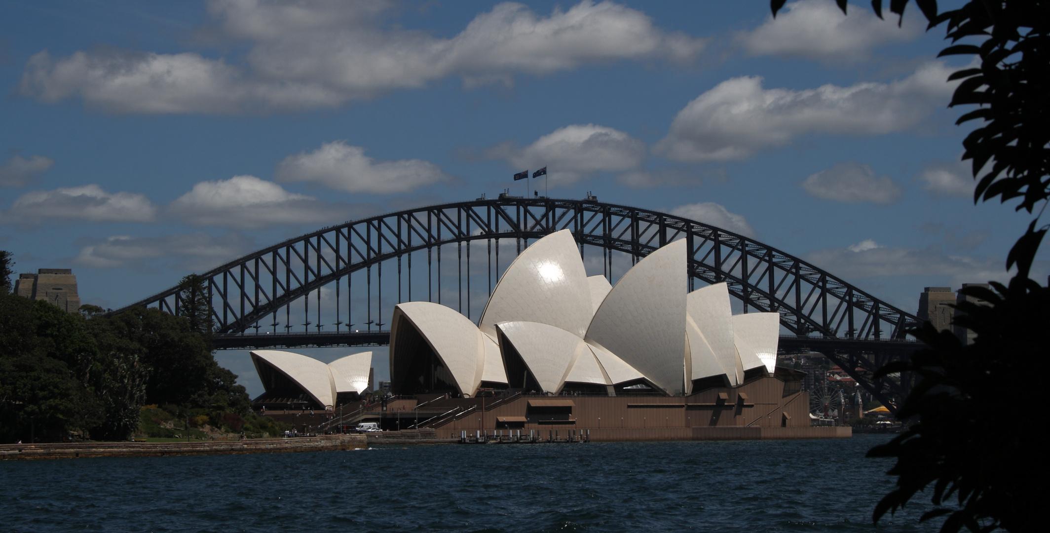 Harbour-Bridge Sydney New-South-Wales