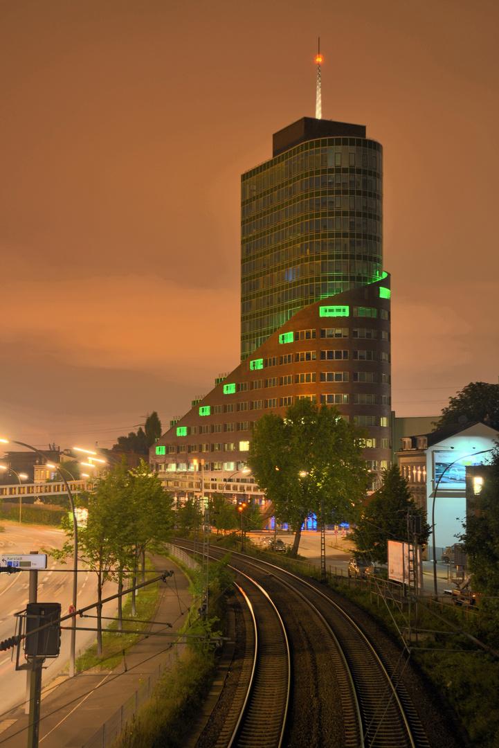 Harburg by night
