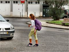 Hard life...going to school in Portugal.