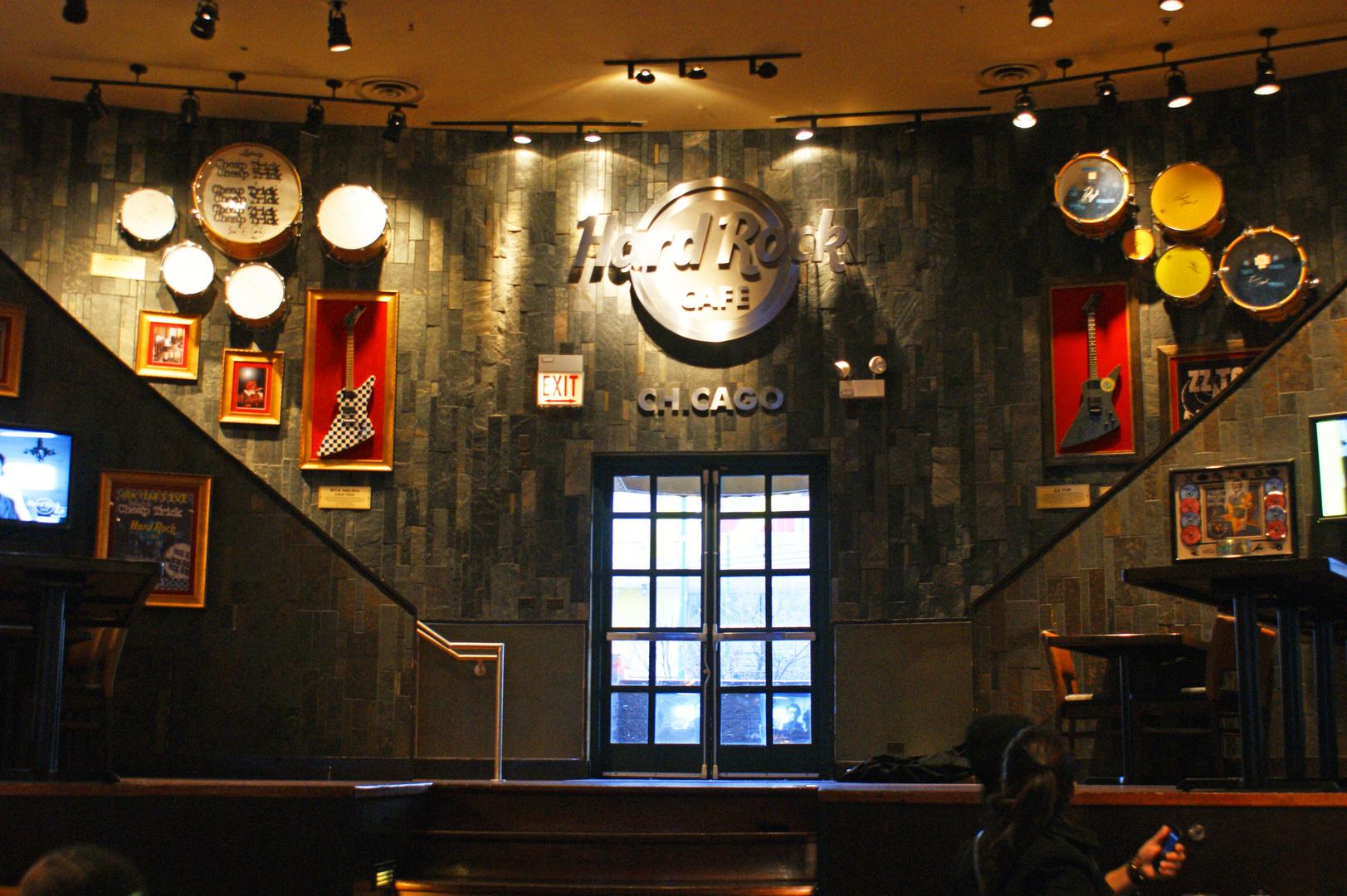 Hard Rock Cafe Chicago innen