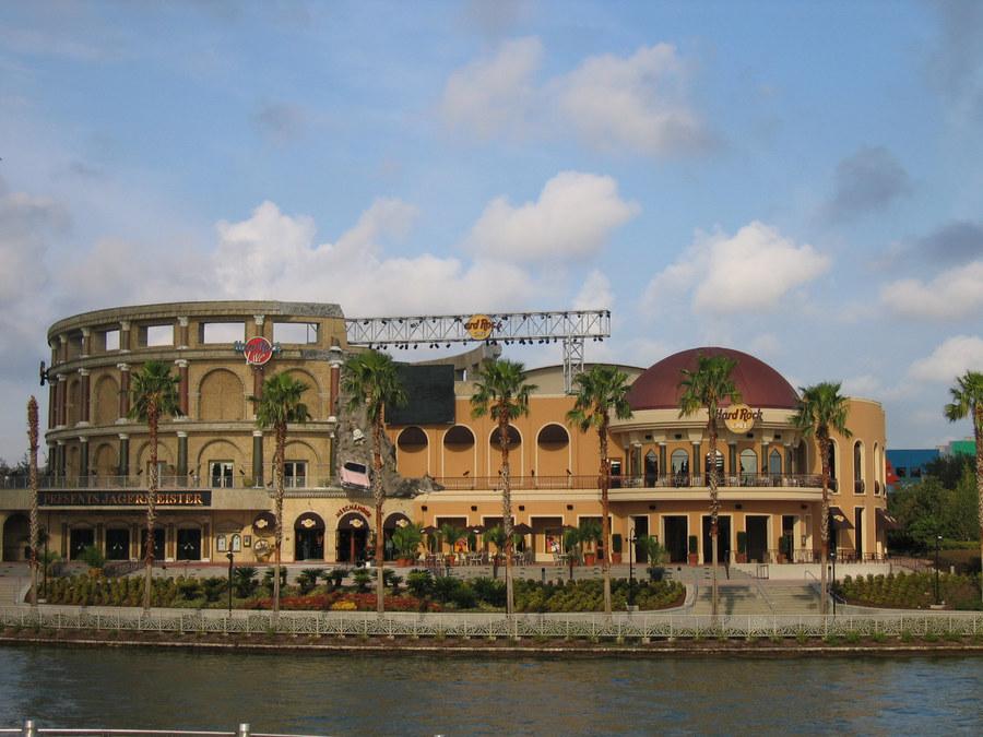 Hard Rock Cafe Orlando, tagsüber