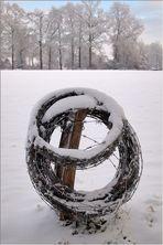 Hardinger Winterbilder: Winterruhe auf dem Feld