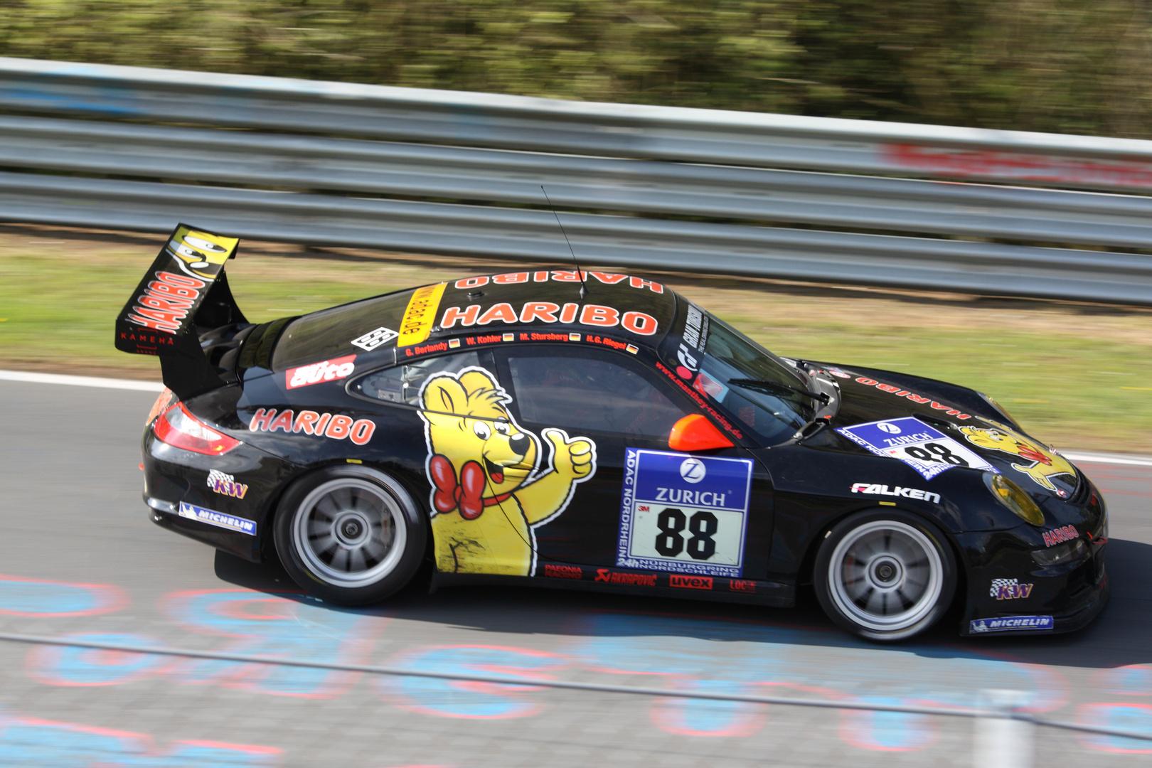 Haribo Porsche 24h Rennen 2010