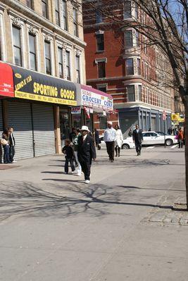 Harlem Malcom X Boulevard /136th