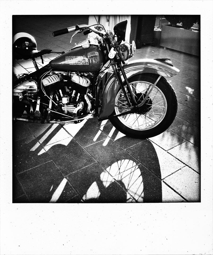 Harley 1954.