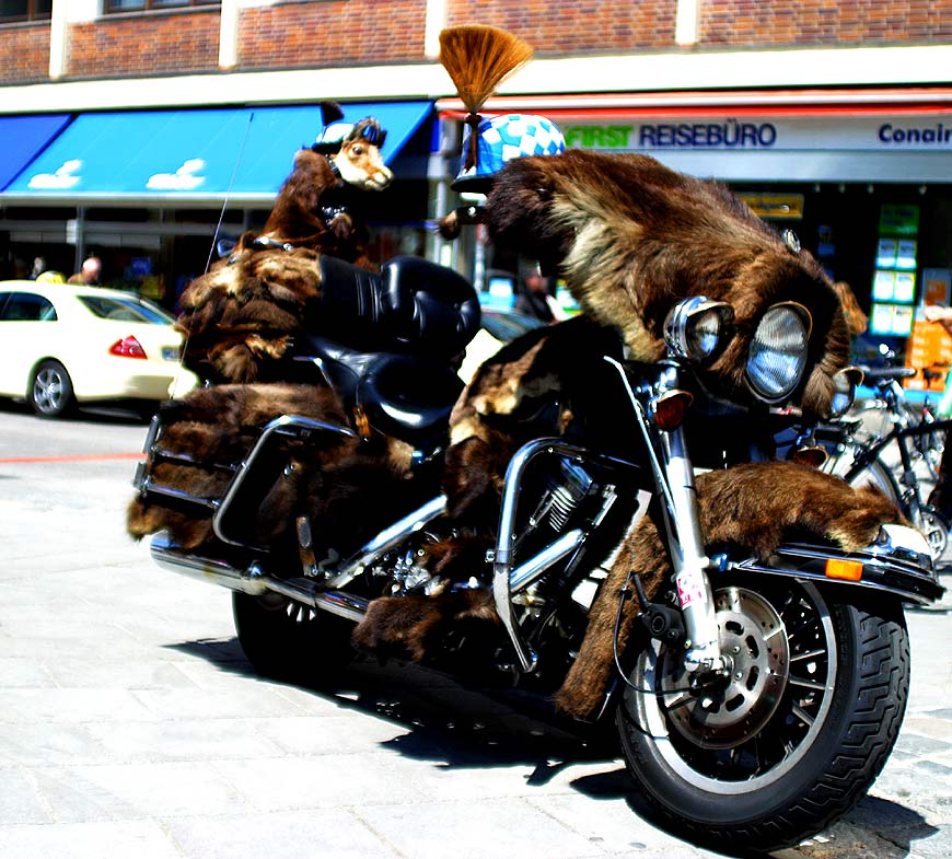 Harley - Bavarian Style