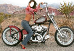 Harley Davidson Girl