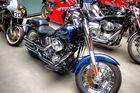 Harley Davidson im Düsseldorfer Meilenwerk