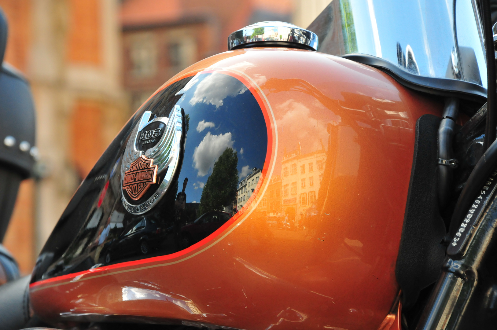 Harley Davidson in Brüssel