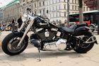 Harley Davidson @ Jungfernstieg (Hamburg), 27.06.2009