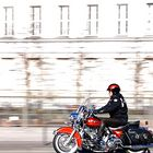 Harley-Davidson on the rush