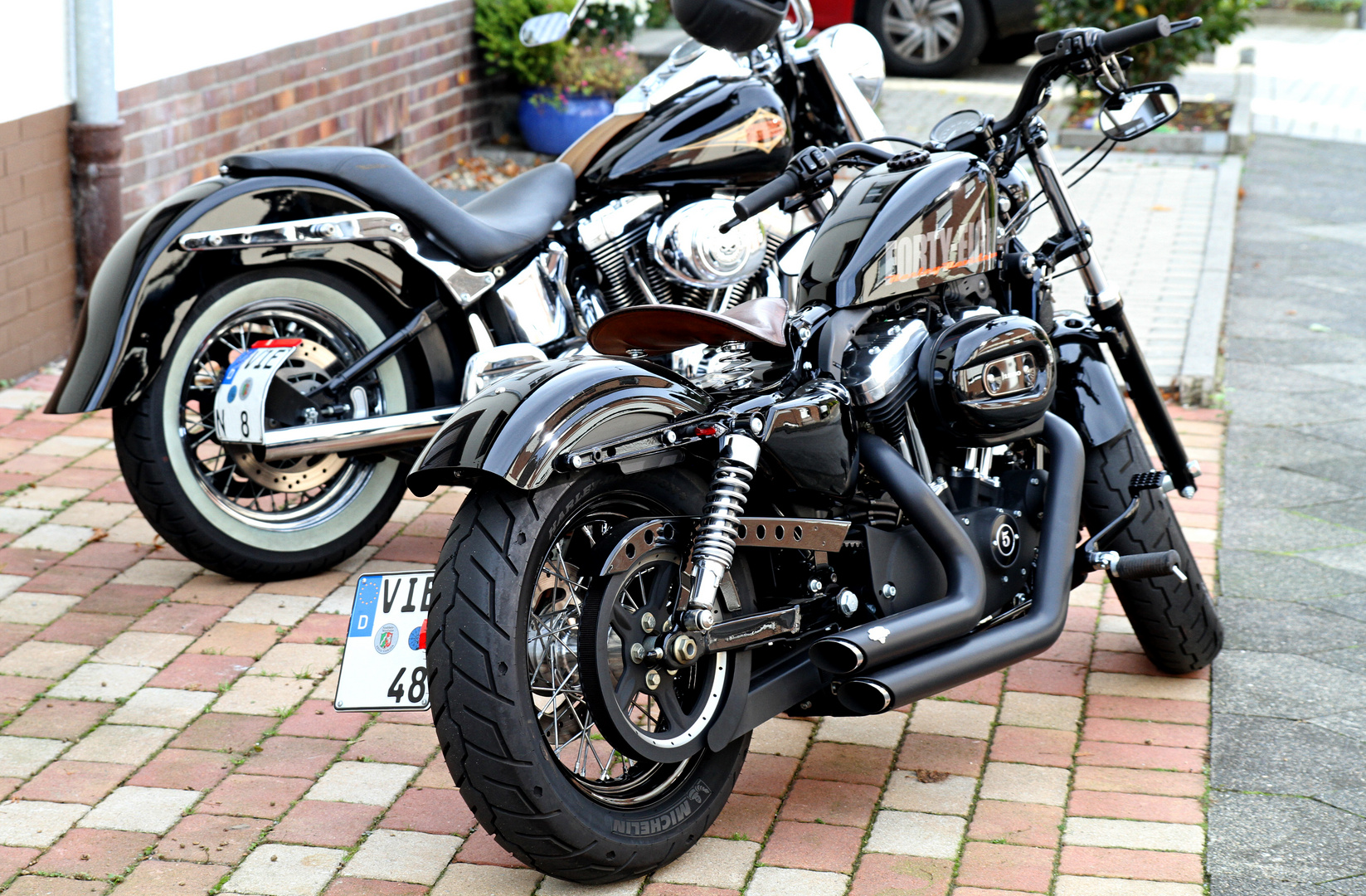 ~ Harley Davidson Sportster 48 ~