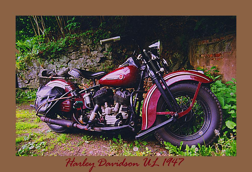Harley Davidson von ca 1947