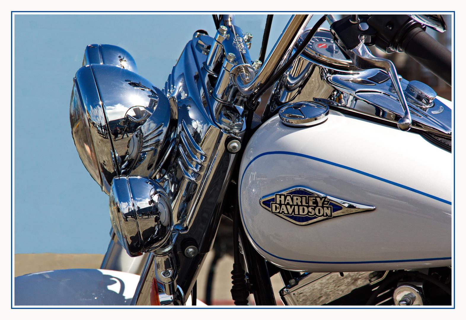 Harley in SanFrancisco